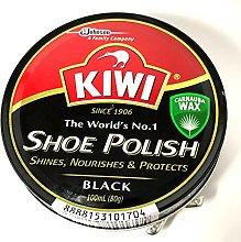 Kiwi Shoe Polish Black (100ml)