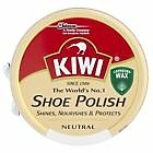 Kiwi Shoe Polish Black Brown Neutral 50ml Tin Boot