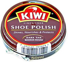 KIWI Shoe Polish Dark Brown 1.69fl.oz