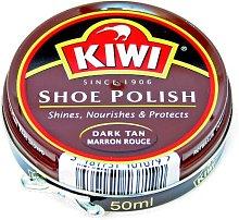 KIWI Shoe Polish Dark Brown 1.69fl.oz