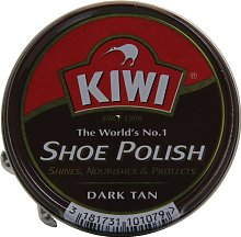 Kiwi Shoe Polish Dark Tan 50ml x 5