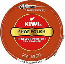 Kiwi Shoe Polish, Tan 30g