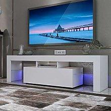 Kiwifruit Corner TV Unit, LED TV Stand Cabinet