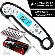 Kizen Alarm Thermometer (Black)