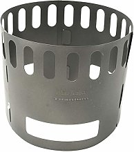 KJGHJ Ultralight Folding Titanium Pot Stand