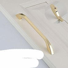 KK&FING Luxury Bright Gold Knobs and Handles