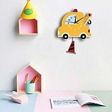 KK Timo Creative Cartoon Wall Clock Mute Children
