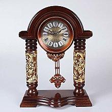 KK Timo Retro Clock With A Pendulum Mute The