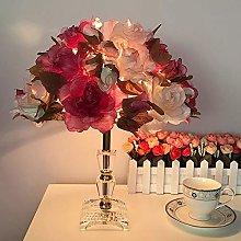 KK Timo table Crystal Rose Wedding Room Table Lamp