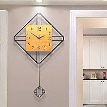 KK Timo Wooden Simple Swing Clock Table Modern