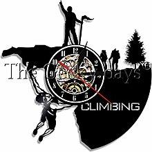 kkkjjj Rock climbing equipment vinyl record wall