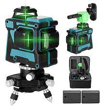 KKmoon Multifunctional 3D 12 Lines Laser Level