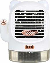 KKmoon Quiet Desk Fan Mini Air Conditioner Fan