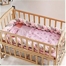 KKUFOO 3 Knot Soft Baby Bed Bumper Crib Sides 3