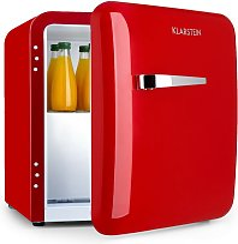 Klarstein - Audrey Mini Fridge EEC A+ Freezer LED