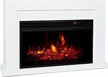 Klarstein Blanca Electric Fireplace - 1000/2000 W,