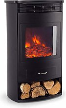 Klarstein Bormio - Electric Fireplace, 2 Heat