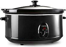 Klarstein Bristol 65 - Slow Cooker, Braising Pot,