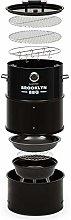 Klarstein Brooklyn-BBQ - 4-in-1 Barrel Barrel,