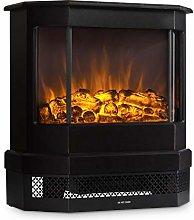 Klarstein Castillo Electric Fireplace - Black