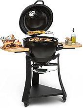 Klarstein Duomo Kamado Grill - Barbecue Grill for
