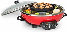 Klarstein Hot Pot and Grill Plate - Volume: 5 L,