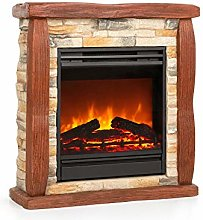 Klarstein Lienz Electric Fireplace with LED Flame