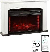 Klarstein, Lucerne Smart, Electric Fireplace, 1000
