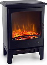 Klarstein Meran Electric Fireplace with Flame