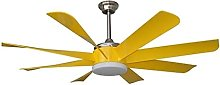 KLDDE Ceiling fan with lamp and remote control,