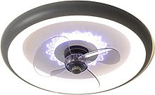 KLDDE Ceiling fan, with LED lighting and remote