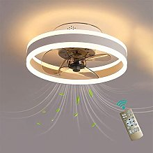 KLDDE Ceiling fan with reversible remote control