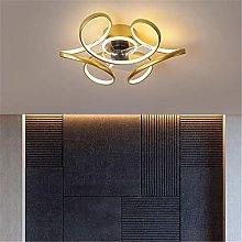 KLDDE LED ceiling fan, with lighting program and