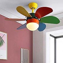 KLDDE LED ceiling fans lighting, with remote