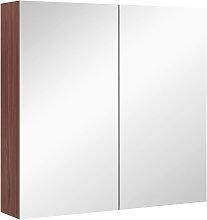 Kleankin - Double Door Wall Mounted Glass Mirror