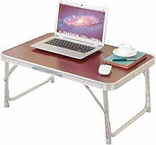 KLEDDP Laptop Bed Table Desk Foldable Portable
