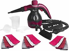 Kleeneze® COMBO-6362 10-in-1 Handheld Steam