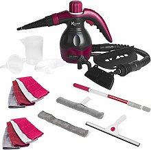 Kleeneze® COMBO-6363 10-in-1 Handheld Steam