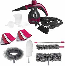 Kleeneze® COMBO-6364 10-in-1 Handheld Steam