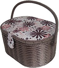 Kleiber  919-68 Oval Sewing and Embroidery Basket