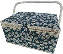 Kleiber + Co. 91906Sewing Basket Rectangular