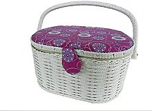 Kleiber/CO. 91909Sewing Basket Oval Sewing