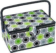 Kleiber Large Rectangular Sewing Basket-Sunflower