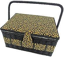 Kleiber Rectangular Sewing Basket Wood + Co.