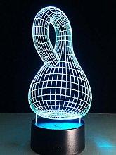 Klein Bottle Fantasy Science Infinite Loop Led3D