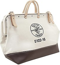 Klein Tools 5102-16 Bag, Canvas Tote for Hand