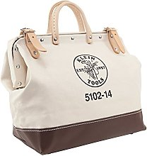 Klein Tools Canvas Tool Bag, 14-Inch 5102-14,