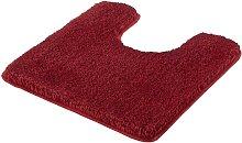 Kleine Wolke Toilet Rug Relax 55x55cm Ruby Red -