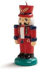 &klevering - Candle Nutcracker red