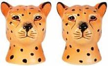 &klevering - Leopard Salt and Pepper Shaker -